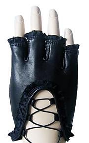 Polslengte Halve vingers Handschoen Leer Feest/uitgaanshandschoenen / Winterhandschoenen Lente