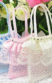 Baby Shower/Verjaardag Party Favors & Gifts # Bedank Tassen Geweven Stof Klassiek Thema Niet-gepersonaliseerd Ivoor/Roze/Blauw