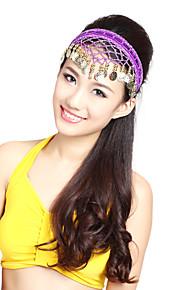 Ydelse Dancewear Alloy Headpiece med mønter til damer Flere farver
