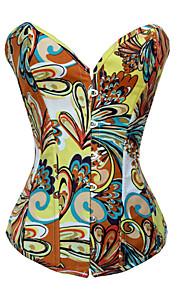 spandex avec fermeture jacquard front de Busk corsets d'occasion spéciale (plus de couleurs) lingerie sexy de shaper