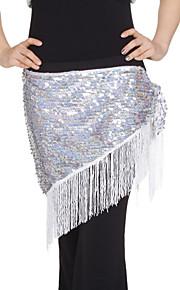 dancewear lovertjes met kwastjes prestaties buik hippe sjaal voor dames meer kleuren