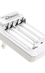 MaXuSS Mini Lader voor 2 x AA AAA NI-MH batterij