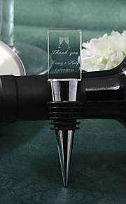 bouchon de vin personnalisées carrés