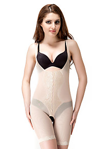 chinlon avec broderie mi cuisse corsets usure quotidienne shapewear lingerie sexy shaper