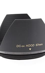 Mennon 67mm Parasol para objetivos de cámaras digitales Lentes 16mm +, 28mm Film +