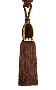Polyester Classic Tassel (One Pair)