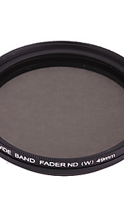FOTGA Ultra Thin Fader variabele Neutral Density ND2 ~ ND400 filter (49mm)