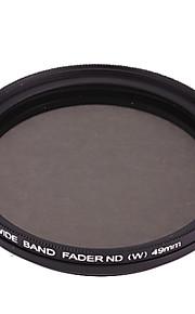 FOTGA Ultra Thin Fader Variable Densidad Neutral ND2 ~ ND400 Filter (49mm)