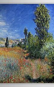 Célèbre peinture à l'huile paysage sur l'île Saint-Martin par Claude Monet