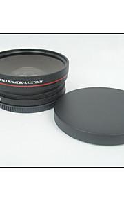 72mm Gran Angular 0.45X + macro de la lente de conversión 72 0,45