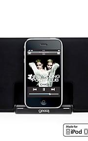 Super Slim Bærbare Højtalere til iPod og iPhone (Mfi Certifikat, Apple 30-Pin Port)