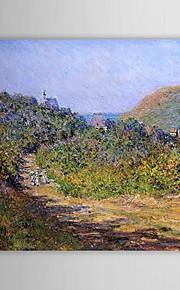 Célèbre peinture à l'huile Chez Les Petit-Dalles par Claude Monet