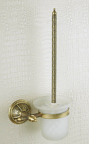 Oil Rubbed Bronze Finish Wall-mounted Toilet Brush Holder