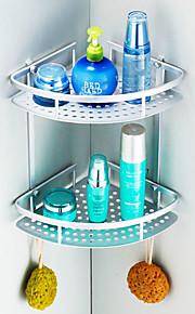 """Mensola del bagno Alluminio A muro 220 x 220 x 250mm (8.66 x 8.66 x 9.8"""") Alluminio Moderno"""
