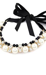 Collier Cadeau/Sorée/Quotidien/Casual Imitation de perle Alliage Femme