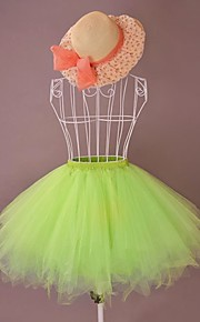 Sommer Seaside Kort organza Søt Lolita Petticoat / skjørt (Midje: 72cm, Lengde: 50cm)