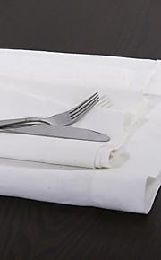 """sæt med 4 22 """"vaskede linned middag servietter"""