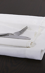 "set van 4 22 ""gewassen linnen diner servetten"