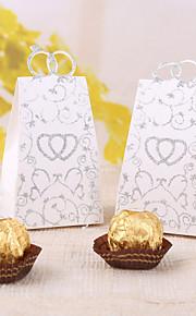 12 Piece/Set Favor Holder Card Paper Favor Boxes Heart To Heart
