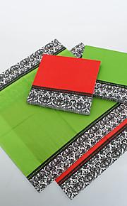 Servilletas de color sólido con Laciness (más colores)