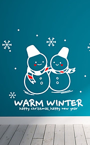 Holiday Joulua ja lämmin talvi Wall Tarrat