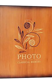 """Estilo floral elegante Digna 10 """"* 12"""" Photo Album (20 Bolso 40 Lados)"""