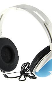 Modieuze Stereo On-ear hoofdtelefoon voor de S3, S4, iPhone, iPod (Blauw)