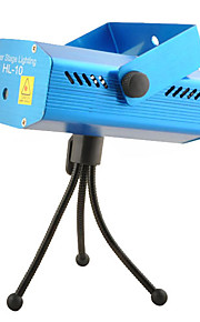 Control de voz Hl-10 LED verde / rojo / Automatic Laser Lámpara Etapa
