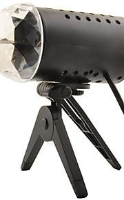 SGB LED RGB Crystal Magic Ball 85 ~ 260V de luz láser Etapa
