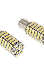 1156 8W 120x3020SMD 680LM de 5500-6500K refrescan la lámpara LED de luz blanca para coche (12V)
