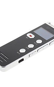 8GB 2.0USB Multi Language FM Professional 600 Digital Voice Recorder Zwart