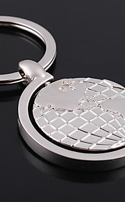 Personalized Engraved Gift Tellurion Shaped Keychain