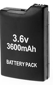 3.6V 3600mAh Rechargeable Li-ion Battery Pack for PSP 1000