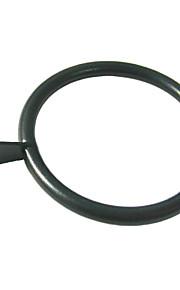 Metal sólido Fantasia Cilp Ring - 10 Pedaço (3,6 centímetros de diâmetro)