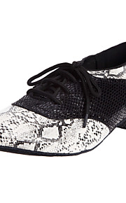Chaussures de danse(Multicolore) -Non Personnalisables-Talon Bas-Similicuir-Moderne Salon
