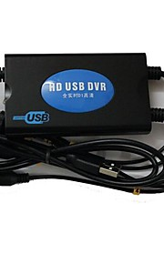 4-kanals Real Time HD USB DVR Box Security Camera til Computer (Super USB DVR med 4-video + 2 lydkanaler)