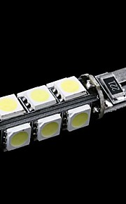 T10 W5W 194 927 161 CANBUS 13 5050 SMD LED Car Side Wedge Light lamp Decode