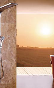 66 pollici rubinetto doccia moderna cromato in acciaio inox