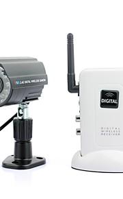 Cámara de vigilancia inalámbrica por infrarrojos con sistema receptor