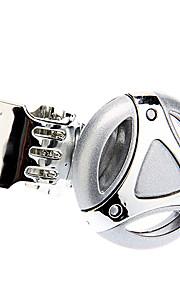 Zilveren Auto Steering Wheel draaiknop Opvouwbaar Easy-montage