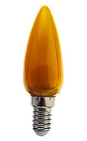 E14 1 W 8 DIP-LED 70 LM Blå/Gul/Grønn/Rød/Kjølig hvit C Dekorativ Lysestakepære AC 220-240 V