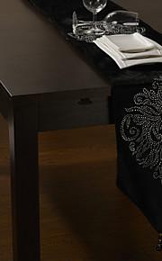 "бархат бегун стол с цветочным алмазной 80 ""× 12"""