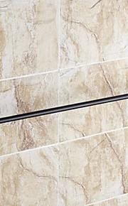 """타월 걸이 오일 코팅 브론즈 벽걸이형 630 x 66 x 70mm (24.80 x 2.59 x 2.75"""") 황동 전통적"""