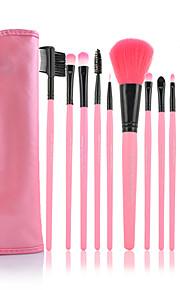 12 Brush Sets Nylonkwast / Synthetisch haar Beperkt bacterieën Gezicht / Lip / Oog MAKE-UP FOR YOU