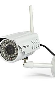 sricam® udendørs IP-kamera 720p dag nat vandtæt wi-fi p2p trådløs