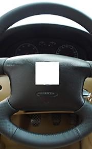 Xuji ™ echt leder stuurhoes voor Volkswagen Passat B5 VW Passat B5 VW Golf 4