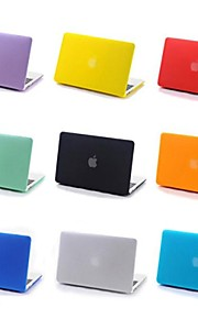 """coosbo® mate recubierta de goma caso de la cubierta dura para 13 """"15"""" MacBook Pro mac (color surtidos)"""