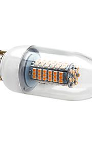 E26/E27 7 W 120 SMD 3528 630 LM Varm hvit/Kjølig hvit C Lysestakepære AC 220-240 V