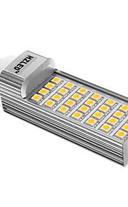 g24 6w 450lm 28x5050smd chaude lumière blanche / froid led ampoule de maïs (AC85-265V)