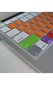 """coosbo® bunten Silikon-Tastatur-Abdeckung Haut für 13.3 """", 15.4"""", 17 """"MacBook Air Pro / Netzhaut (verschiedene Farben)"""